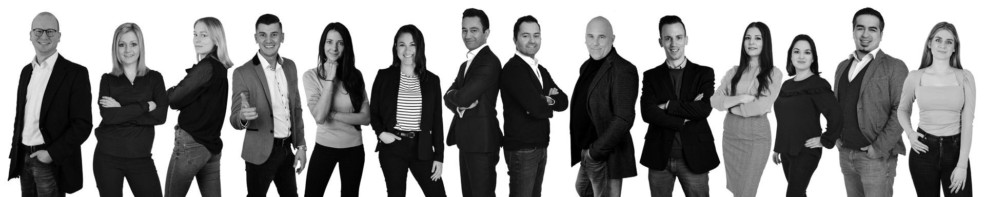 Team von FLH Media Digital in Ismaning bei München